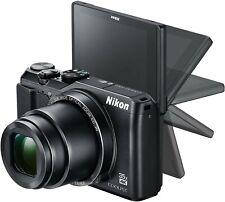 Nikon COOLPIX A900 20.0MP Digital Camera - Black + WiFi + Bluetooth