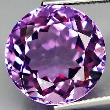3.0Ct SUPREME & Good Clarity Gem - Natural Bolivia Purple AMETHYST 9mm Rd AME040