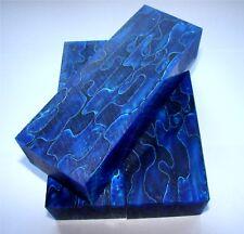 Messergriffblock Acryl blau kristall 13x4,5x3cm, Messergriffblöcke, DrechselT157