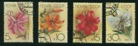 1989 Russia Stamps, Complete Set Cultivated Lilies, SC#5757-5760, Unused.