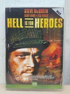 Hell Is For Heroes (DVD, 2003) Region 4 Steve McQueen