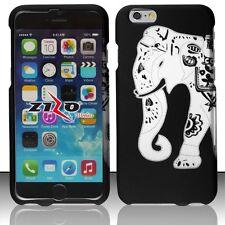 For iPhone 5c - Rubberized Matte Hard Design Cover case - Elephant Design