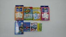 Learning Flash Cards/Card Games Lot of 8
