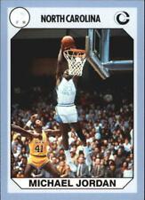 MICHAEL JORDAN ~ 1990-91 North Carolina Collegiate Collection College Card #93