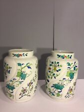 Pair Of Magnificent Antique Chines  Floral Procalain Vase