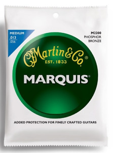 Martin M2200 Marquis Acoustic Strings. Phos Bronze. Gauge: 13-56