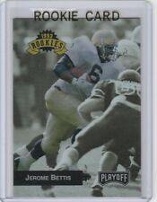 JEROME BETTIS ROOKIE CARD 1993 Playoff NOTRE DAME Fighting Irish RC Steelers!