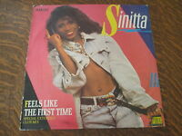 Maxi 45 tours Sinitta - Feels like the first time