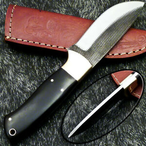 Stunning Handmade HIGH Carbon Real File Steel Fixed Blade Hunting Knife PS-99