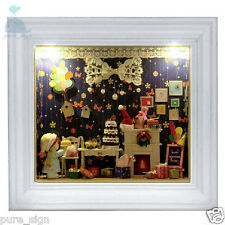 DIY Handcraft Miniature Project Dolls House Photo Frame Birthday's Tour of Dream