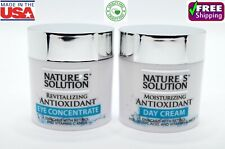 4 Pack Facial Cream & Eye Concentrate Anti Aging Kit Made in USA Gentle 1.8 oz