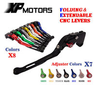 CNC Foldable Extendable Brake Clutch Levers For Suzuki DL1000 V-Strom 2002-2014
