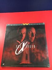 Rare Laserdisc - The X Files Movie LD Widescreen Edition Sealed New