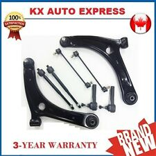 2X Front Lower Control Arm Tie Rod Sway Bar Link Kit for Jeep Compass 2007 2008