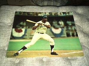 1960s-70's Hank Aaron Atlanta Braves 11x14 Cardboard Display Poster