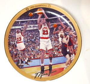 Michael Jordan Upper Deck 1992 Champions As #23 Collector Plate #18512A