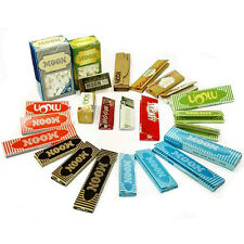 MOON WHOLE SIZE COMBO TOBACCO ROLLING PAPERS+FILTER TIPS Whole Family Pack