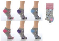 Medias y calcetines de mujer de color principal gris de algodón