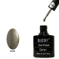 Bluesky 40560 Steel Sparkle - UV LED Gel Soak off Nail Polish 10ml