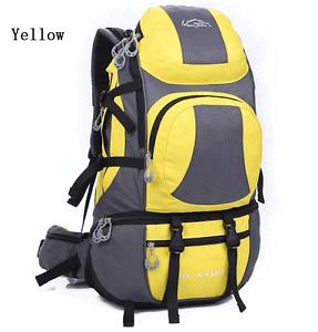 Waterproof 45L Outdoor Sports Backpack Camping Hiking Travel Bag Men Women New
