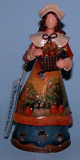 Roman Thanksgiving Pilgrim woman Tinworks