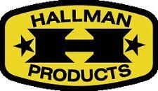 Vintage Motocross Hallman Rim Sticker Kit CR RM TM YZ  Honda AHRMA 125 250 400