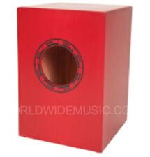 Performance percussion PP145 junior cajon-rouge et incl. rembourrée carry bag