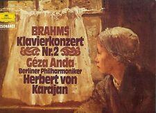 BRAHMS KLAVIERKONZERT NR.2 GEZA ANDA BERLINER PHILHARMONIKER KARAJAN LP (L5401)