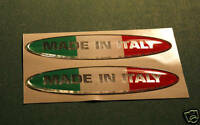 2 DOMED 3D MADE IN ITALY STICKERS
