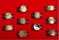 Naruto Shippuuden Akatsuki Member's 10 pcs Rings /Anime Cosplay set
