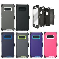 For Samsung Galaxy Note 8 Case Cover & Belt Clip | Fits Otterbox DEFENDER SERIES