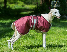 """WHIPPET / LURCHER / DOG WATERPROOF COAT 20"""" to 26""""  MANY COLOURS  NEW"""