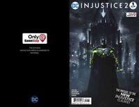 DC Injustice 2 #1 Gamestop Exclusive Variant Bruno Redondo Prequel comic book
