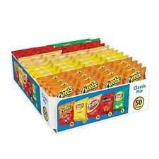 (50 BAGS) FRITO-LAY CLASSIC MIX CHIPS & SNACKS VARIETY PACK /VENDING MACHINES