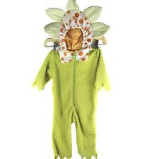Halloween Fuzzy Baby Toddler Flower Costume 12 to 18 Months Zip Front 1 Piece