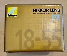 Nikon 18-55mm /F 3.5-5.6 AF-P G NIKKOR DX VR LENS new Open BOX
