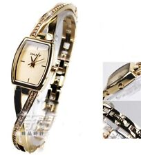 DKNY WOMEN'S GOLD TWIST LUXURY DRESS CRYSTALS WATCH NY2237