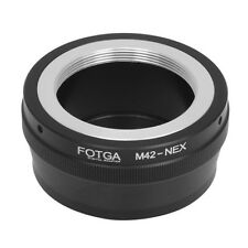 FOTGA M42 lens to Sony E mount NEX Adapter Screw Adjustable Allows focus A7 A7R