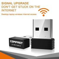 Wireless Mini USB Wifi Adapter 802.11N 150Mbps USB2.0 Receiver Dongle