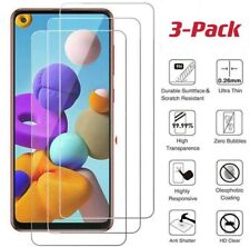 3 Pack For Samsung Galaxy A11 Tempered Glass Screen Protector Premium Guard