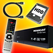 Megasat HD 935 PVR Twin-Tuner 1000GB Festplatte Sat Receiver Streaming HDTV USB