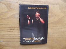 The Poetry Lounge 2: The Power of Poetics (DVD, 2007)