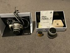 NIKON CAMERA PRONEA S KIT 2 x lenses, APS film original box 30-60mm 60-180mm