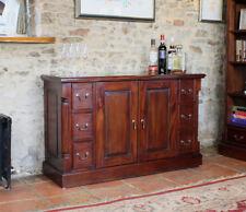 Baumhaus la Roque Mahogany Sideboard 6 Drawers & 2 Doors - Solid Mahogany Wood