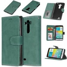 Retro Magnetic PU Leather Wallet Flip Phone Case Cover For Various Phones Models