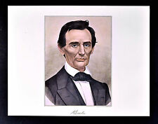 Currier and Ives Print - President Abraham Lincoln Portrait - Abe - Vintage Repo