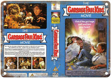 """1987 Garbage Pail Kids The Movie VHS Cover 10"""" x 7"""" Reproduction Metal Sign"""