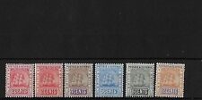 BR GUIANA 1907-10 COLOUR CHANGE MCA SET INC REDRAWN 2c VALUE, MM, SG253/7