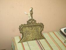 Antique Vintage Ornate Art Nouveau Cast Iron Crumb Tray