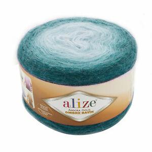 Alize Angora Gold Ombre Batik 150g Cake 7230